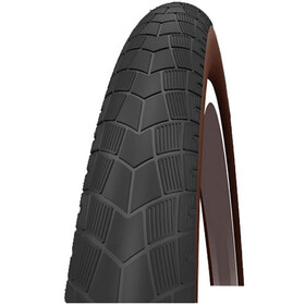 "Impac BigPac PP Wired-on Tire 28"" Reflex black/brown"